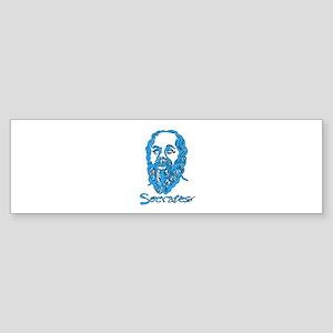 Socrates Sticker (Bumper)