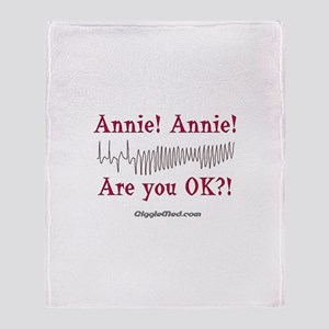 Annie! Annie! 2 Throw Blanket