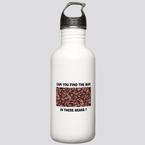 WHERE IS HE? Stainless Water Bottle 1.0L