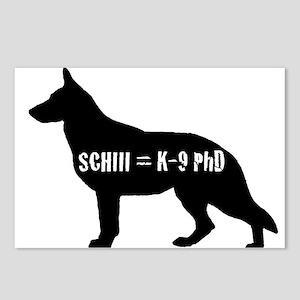 SchIII = K-9 Phd Postcards (Package of 8)