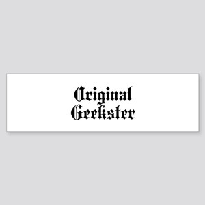 Original Geekster Sticker (Bumper)