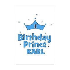 1st Birthday Prince KARL! Posters