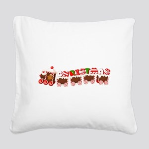 christmas Square Canvas Pillow