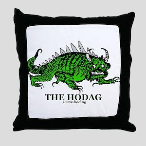 Rhinelander Hodag Throw Pillow