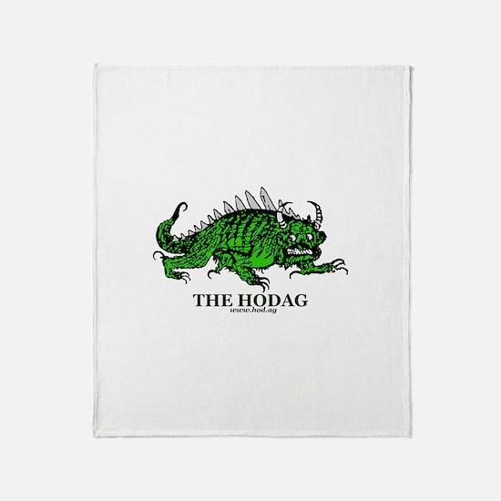Rhinelander Hodag Throw Blanket