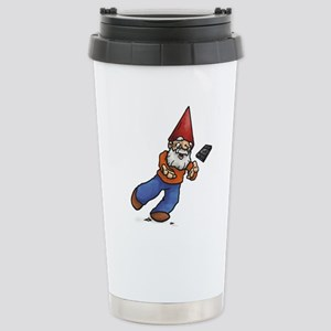 Lucky Hands Gnome Stainless Steel Travel Mug