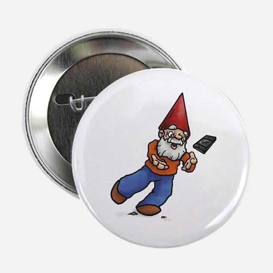 "Lucky Hands Gnome 2.25"" Button"