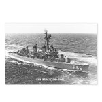 USS BLACK Postcards (Package of 8)