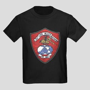 USS BLACK Kids Dark T-Shirt