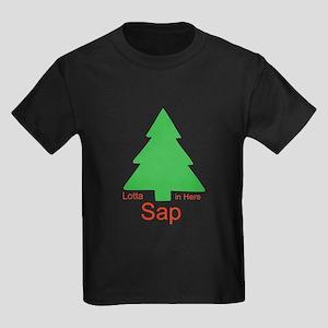Lotta Sap in Here Kids Dark T-Shirt