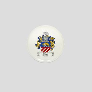Sisco Family Crest Mini Button
