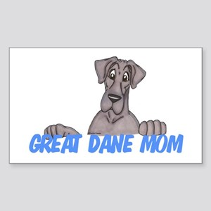 NBlu GD Mom Sticker (Rectangle)