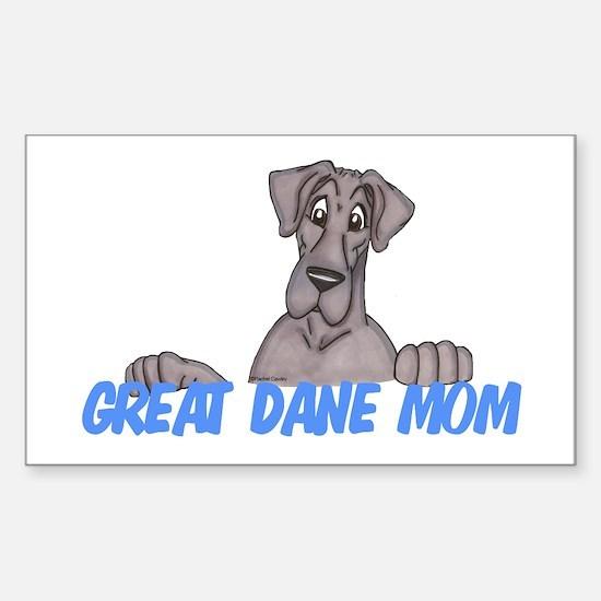 NBlu GD Mom Sticker (Rectangle)