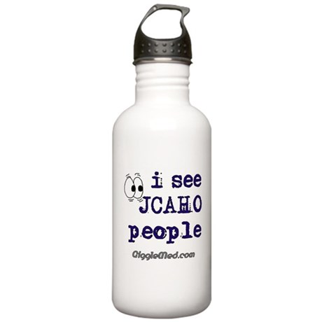JCAHO People Stainless Water Bottle 1.0L