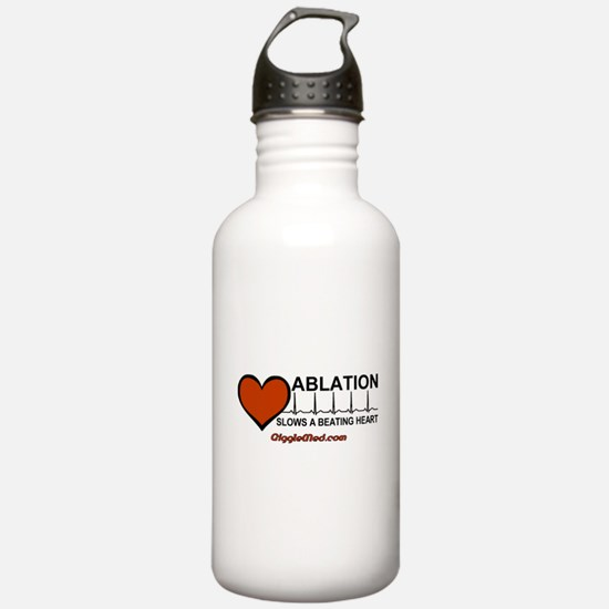 Ablation Slows A Beating Hear Water Bottle
