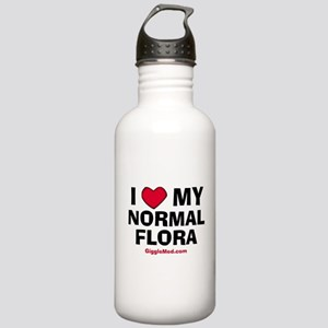 Normal Flora Love Stainless Water Bottle 1.0L