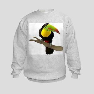 Toucan bird Kids Sweatshirt
