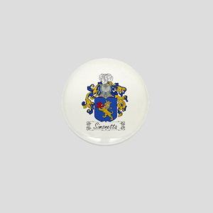 Simonetta Family Crest Mini Button