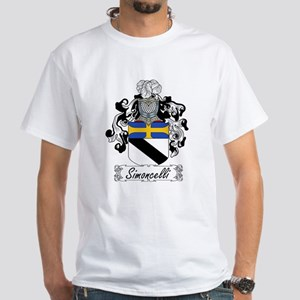 Simoncelli Coat of Arms White T-Shirt