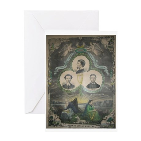 Manchester Martyrs Greeting Card