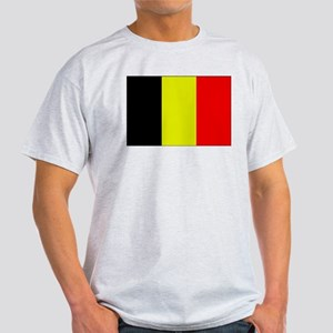 Flag of Belgium 1 Ash Grey T-Shirt