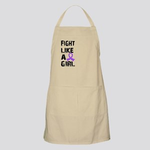 Fight Like A Girl Hodgkin's Lymphoma Apron