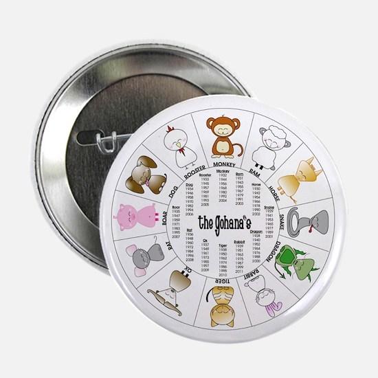 "Gohana Zodiac 2.25"" Button (10 pack)"