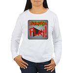 Play Button Women's Long Sleeve T-Shirt