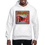 Play Button Hooded Sweatshirt