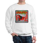 Play Button Sweatshirt