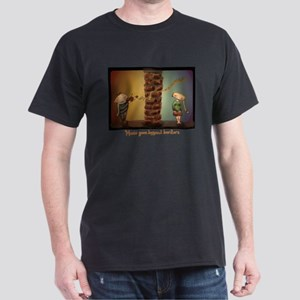 music goes beyond borders Dark T-Shirt