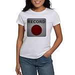 Record Button Women's T-Shirt