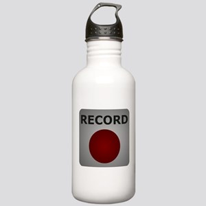 Record Button Stainless Water Bottle 1.0L