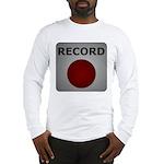 Record Button Long Sleeve T-Shirt