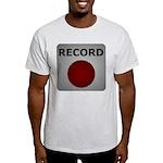 Record Button Light T-Shirt