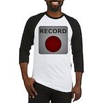 Record Button Baseball Jersey
