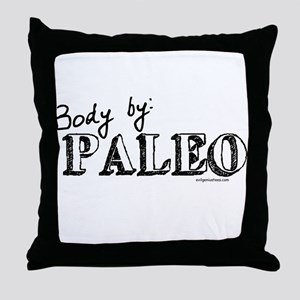 Body by paleo Throw Pillow