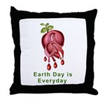 Earth Day is Every Day Throw Pillow