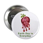 """Earth Day is Every Day 2.25"""" Button (100 pack"""