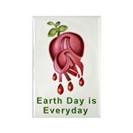Earth Day is Every Day Rectangle Magnet (100 pack)