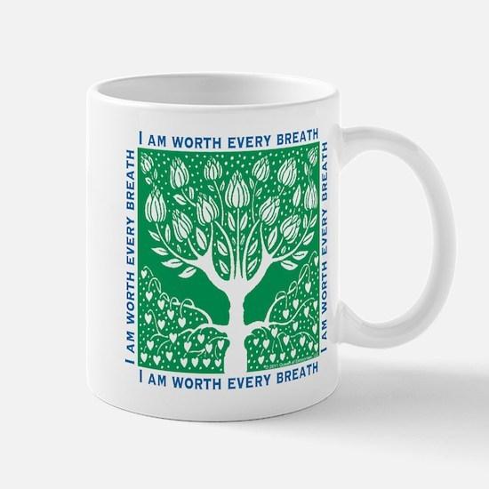 Tree of Love Green Mug