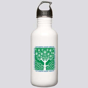 Tree of Love Green Stainless Water Bottle 1.0L