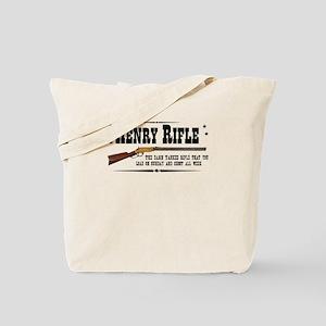 Henry Rifle Tote Bag