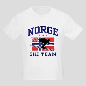 Norge Ski Team Kids Light T-Shirt