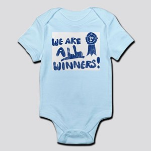 We Are All Winners Infant Creeper
