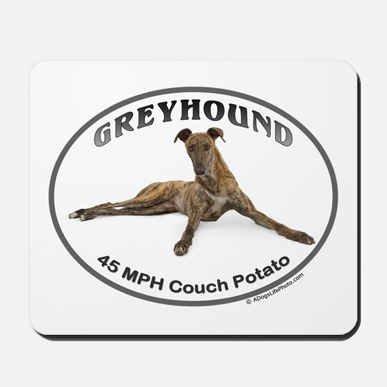 GVV Greyhound Couch Potato Mousepad