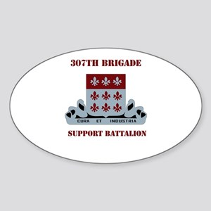 DUI - 307th Bde - Support Bn with Text Sticker (Ov