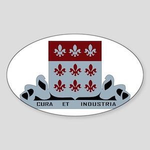 DUI - 307th Brigade - Support Battalion Sticker (O
