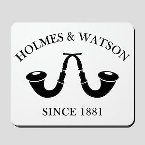 Holmes & Watson Since 1881 Mousepad