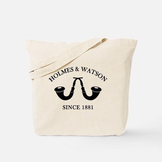 Holmes & Watson Since 1881 Tote Bag